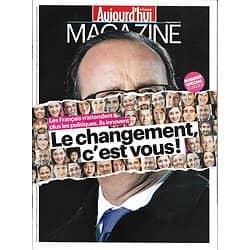 AUJOURD'HUI EN FRANCE MAGAZINE n°4694 19/09/2014  La France bouge/ Follett/ JR
