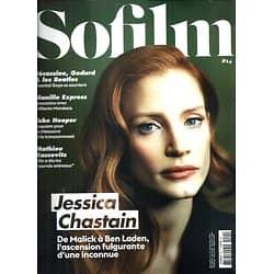 SOFILM n°24 octobre 2014  Jessica Chastain/ Kassovitz/ Wenders/ Hooper/ Goya/ Mendoza