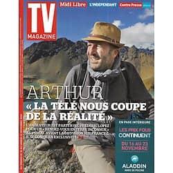 "TV MAGAZINE n°21857 16/11/2014  Arthur/ Frédéric Lopez/ ""Un village français""/ Johnny Hallyday"
