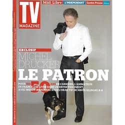 TV MAGAZINE n°21863 23/11/2014  Michel Drucker par Wendy Bouchard/ Emmanuelle Devos en Simone Veil