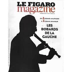 LE FIGARO MAGAZINE n°21845 31/10/2014  Les bobards de la gauche/ Voyage: la Patagonie/ Paris, capitale de la Photo/ Chrétiens d'Irak