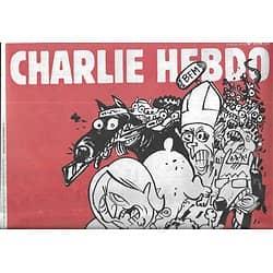 CHARLIE HEBDO n°1179 25/02/015  ...C'est reparti!/ Dhihadistes sur le divan/ Henri Proglio/ Austérité