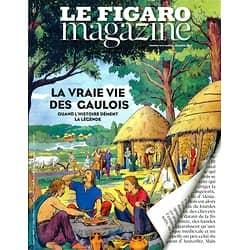 LE FIGARO MAGAZINE N°21892 26 DECEMBRE 2014 LA VRAIE VIE DES GAULOIS/ OUZBEKISTAN/ ISRAEL COW-BOYS/ EUROPE1