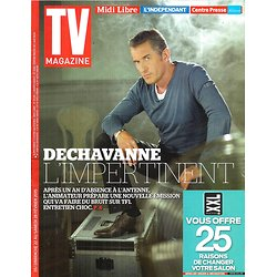 TV MAGAZINE N°21938 22 FEVRIER 2015  DECHAVANNE/ HOUSE OF CARDS/ POKORA