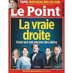 LE POINT n°2216 26/02/2015  La vraie droite/ Finkielkraut/ Houellebecq/ Bernard Tapie/ Alain Badiou