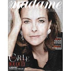 MADAME FIGARO n°21903 09/01/2015  Carole Bouquet/ Spécial rajeunir/ Jeunes talents des César/ Cuisine et résonances
