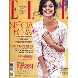 ELLE n°3616 17/04/2015   Sara Sampaio/ Spécial forme/ Spécial chaussures/ Le Corbusier/ Massimo Bottura/ Baby George