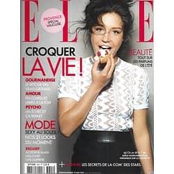 ELLE n°3620 15/05/2015  Adèle Exarchopoulos/ Croquer la vie!/ Azzedine Alaïa/ Voyage: le Pérou/ Raica Oliveira
