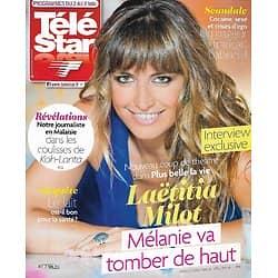 "TELE STAR n°2013 27/04/2015  Laëtitia Milot/ Ava Gardner/ ""Koh-Lanta""/ Daniel Auteuil/ Stéphane Plaza/ Rihanna"