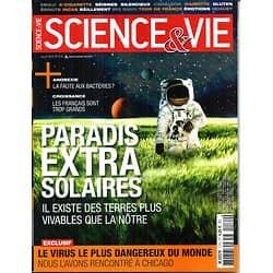 SCIENCE&VIE n°1174 juillet 2015  Exoplanètes/ Anorexie/ Virus mH5N1/ Caméléon