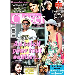 CLOSER N°516 30 AVRIL 2015  THEURIAU&DEBBOUZE/ JENNER/ BOUGRAB/ SUBLET/ BABY GEORGE