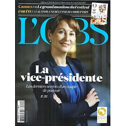 L'OBS N°2635 7 MAI 2015  SEGOLENE ROYAL/ CANNES/ ALSTOM/ PALESTINE/ FRONTIERES