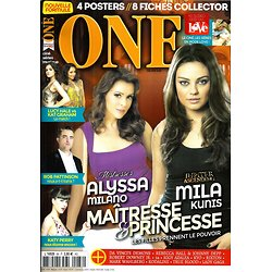 ONE n°88 juin-juillet 2014 MILANO/ KUNIS/ PERRY/ PATTINSON/ SPECIAL LOVE/ HALE