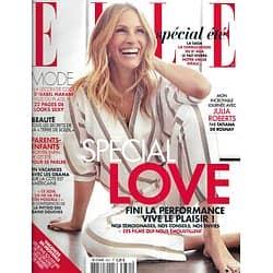 ELLE n°3631 31/07/2015  Julia Roberts/ Kelly Rorhbach/ Isabel Marant/ Spécial Love/ Martha's Vineyard/ Lana Del Rey