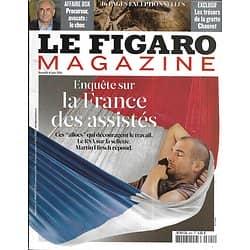 LE FIGARO MAGAZINE n°20789 04/06/2011  La France des Assistés/ Affaire DSK/ Grotte Chauvet/ Le Qatar, vitrine du sport/ Vladivostok