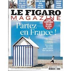 LE FIGARO MAGAZINE n°20801 18/06/2011  Vacances: Partez en France!/ Insurgés libyens/ Balladur raconte Pompidou/ John Leahy (Airbus)