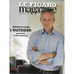 LE FIGARO MAGAZINE n°22040 19/06/2015  Bruno Le Maire, l'outsider/ Sélection de polars pour frissonner/ Islande, la sauvage/ Sauveur de gibbons