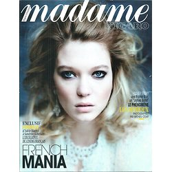 MADAME FIGARO N°22010 15 MAI 2015  LEA SEYDOUX/ FRENCH TOUCH CINEMA/ FRANCAIS A LOS ANGELES/ FESTIVAL HYERES