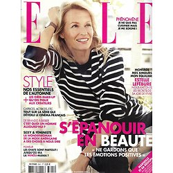 ELLE n°3641 09/10/2015  Estelle Lefébure/ Emma Stone/ Camille Cottin/ Kate Moss/ Tomas Meier/ Trish Deseine