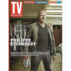 TV MAGAZINE N°22122 27 SEPTEMBRE 2015  ETCHEBEST/ REVENANTS/ COUDRAY/ KHRIS