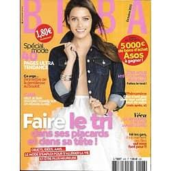 BIBA (POCKET) n°428 octobre 2015  FAIRE LE TRI/ SPECIAL MODE/ TAGLIONI/ CHEVEUX/ BRUNCH