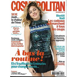 COSMOPOLITAN n°505 décembre 2015  Louane Emera/ A bas la routine/ Lyon/ Spécial cadeaux