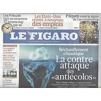 LE FIGARO N°20426 3 AVRIL 2010 RECHAUFFEMENT CLIMATIQUE/ DEAUVILLE/ MARCHE DE L'ART