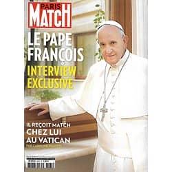 PARIS MATCH n°3465 15/10/2015  Pape François/ Energie/ Marine Vacth/ Mila Kunis/ Jérusalem/ haute couture