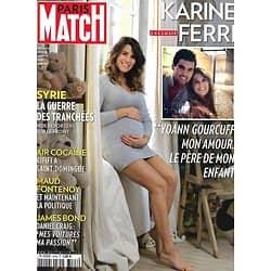 PARIS MATCH n°3468 05/11/2015  Karine Ferri/ Guerre en Syrie/ 007 Bond/ Jerry Hall & Murdoch/ Bellucci & Seydoux