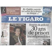 LE FIGARO N°20413 19 MARS 2010  VEIL/ BADINTER/ D'ORMESSON/ LIEVREMONT/ ANOUILH