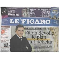 LE FIGARO N°20372 30 JANVIER 2010 FILLON/ DEUTSCH/ LUXEMBOURG/ VILLEPIN