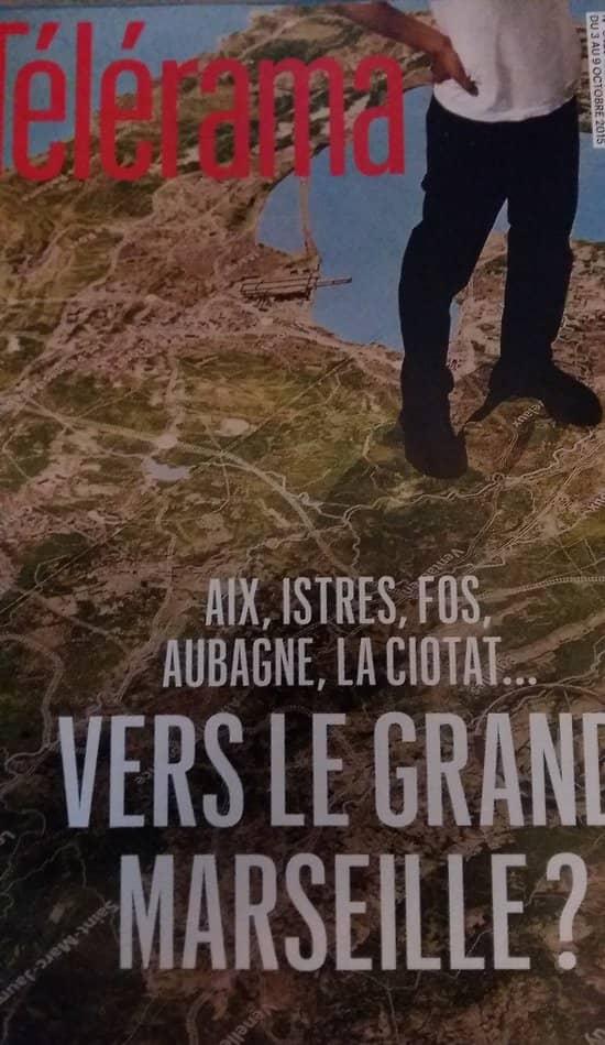 TELERAMA N°3429 3 OCTOBRE 2015  VERS LE GRAND MARSEILLE?/ RAPPENEAU/ VIGEE LE BRUN/ CONSOLER& ART