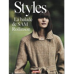 L'EXPRESS STYLES N°3353 7 OCTOBRE 2015  SAM ROLLINSON/ EDITRICES/ DEPARDIEU/ E.STONE