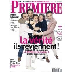 PREMIERE n°409 mars 2011  La vérité si je mens 3/ Damon & Blunt/ Wahlberg/ Viard/ Spécial tournages