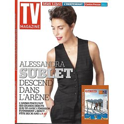 TV MAGAZINE N°22171 22 NOVEMBRE 2015  SUBLET/ HALLYDAY/ MENTALIST/ UN VILLAGE FRANCAIS