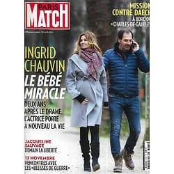 PARIS MATCH n°3481 04/02/2016  Ingrid Chauvin: le bébé miracle/ Misson contre Daech/ Blessés des attentats/ Jacqueline Sauvage bientôt libre