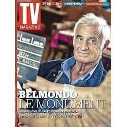 TV MAGAZINE N°22205 3 JANVIER 2016  JEAN-PAUL BELMONDO/ NOUVEAUTES 2016