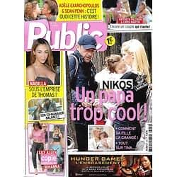 PUBLIC N°559 28 MARS 2014  ALIAGAS/ NABILLA/ KLUM/ BIEL&TIMBERLAKE/ BUNDCHEN/ WOODLEY