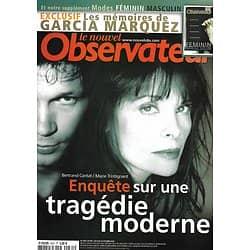 LE NOUVEL OBSERVATEUR n°2031 09/10/2003  Cantat-Trintignant/ Garcia Marquez/ RPR