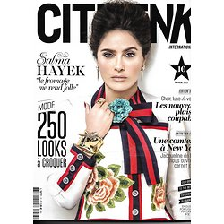 CITIZEN K n°77 hiver 2015  SALMA HAYEK/ MODE/ RIBES/ PLAISIRS COUPABLES/ ARCHITECTURE