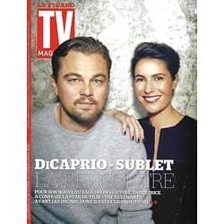 TV MAGAZINE N°22253 28 FEVRIER 2016  DICAPRIO & SUBLET/ BERN& NAGUI/ CELARIE/ LHERMITTE