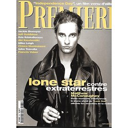 PREMIERE n°235 octobre 1996 MCCONAUGHEY/ INDEPENDENCE DAY/ LEIGH/ MCGREGOR & SCACCHI