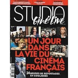 STUDIO CINE LIVE n°78 avril 2016  Spécial Cinéma Français/ Isabelle Huppert/ Alain Delon & Schneider/ Chaplin