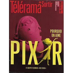 TELERAMA N°3414 20 JUIN 2015  PIXAR/ PODALYDES/ KRULL/ FN/ FEMIS/ SATTOUF