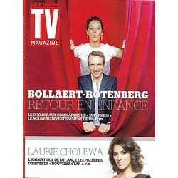 TV MAGAZINE N°22283 3 AVRIL 2016 BOLLAERT & ROTENBERG/ CHOLEWA/ FALCO/ LAROQUE