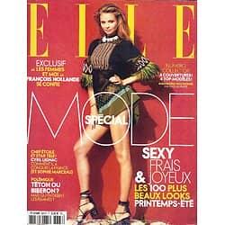 ELLE n°3663 04/03/2016  Spécial Mode/ Magdalena Frackowiak/ Cyril Lignac/ François Hollande/ Grace Jones/ Emmanuel Carrère