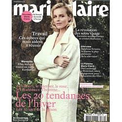 MARIE CLAIRE (POCKET) N°770 OCTOBRE 2016 HERZIGOVA/ MODE TENDANCES DE HIVER/ EFIRA/ SOKO