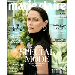 MARIE CLAIRE (POCKET) N°757 SEPTEMBRE 2015  TASHA TILBERG/ SPECIAL MODE/ BEAUTE NEWS/ DE VIGAN/ KIBERLAIN