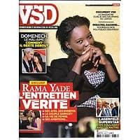 VSD N°1676 7 OCTOBRE 2009  RAMA YADE/ DOMENECH/ LAGERFELD/ ARTHUS-BERTRAND