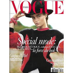 VOGUE n°971 octobre 2016 Mode/ Luna Bjil/ George Michael/ Rubik/ Murphy/ Ulliel